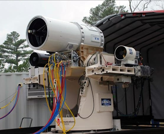 Navy successfully tests laser-equipped robot, freaks us out in the process