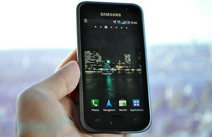 Samsung Galaxy S preview