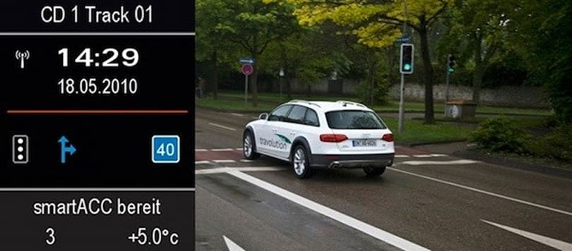 Audi shows off Travolution vehicle-to-infrastructure communication system (update: video!)