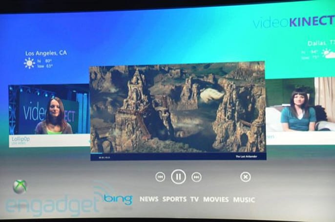 Video Kinect: video chat and stream sharing over Xbox Live and Live Messenger