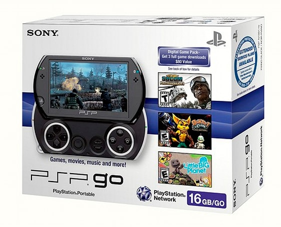 Sony confirms ten free game offer for UK PSP Go buyers, North America gets less awesome deal