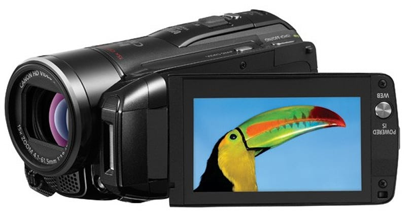 Canon VIXIA HF M32 adds SDXC compatibility, has 64GB of its own flash anyway