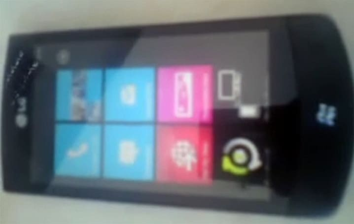 LG E900 stars in Windows Phone 7-themed video homage to Mr. Blurrycam