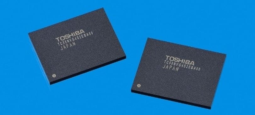 Toshiba introduces 32nm DDR NAND with 133Mbps speeds, or MT/s if you prefer