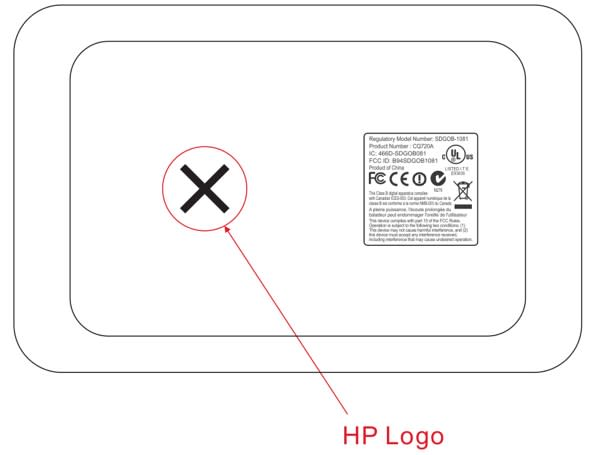 eStation Zeen is HP Slate? Update: Or a Compaq Android tablet for printing?