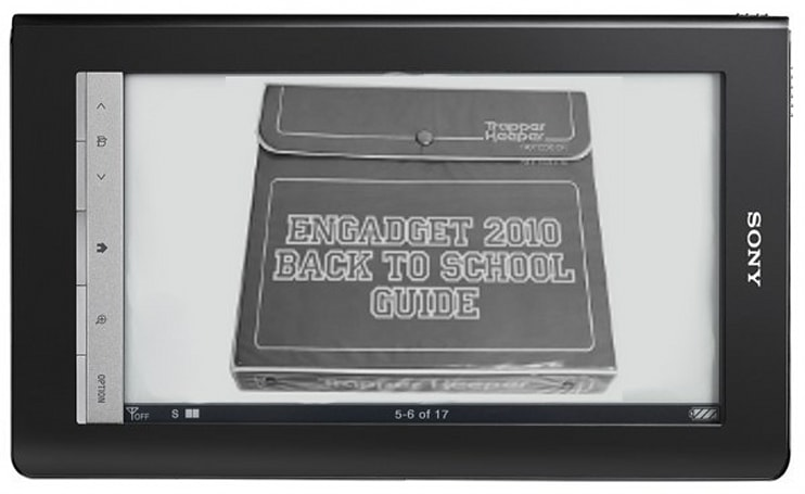 Engadget's back to school guide: E-readers