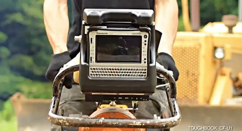 Panasonic proves its Toughbook U1 is Rammer-resistant