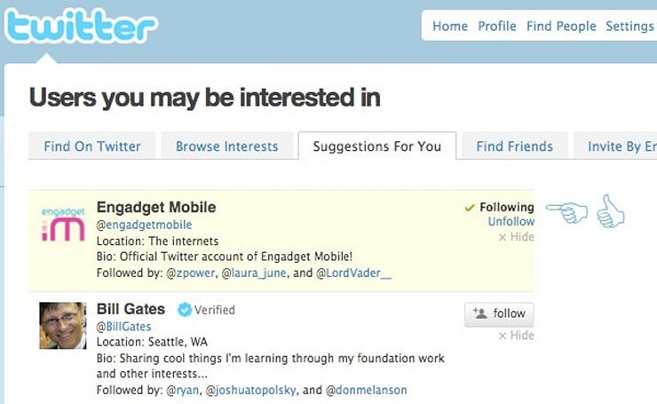 Twitter adds 'Suggestions for You' feature, has impeccably good taste
