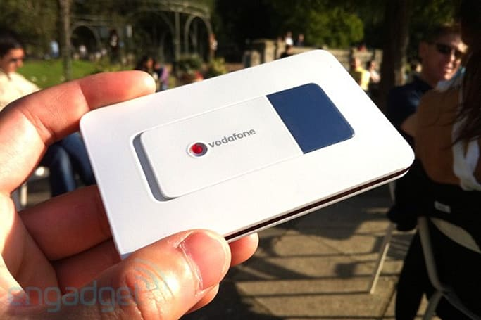 Vodafone R201 mobile WiFi hotspot review