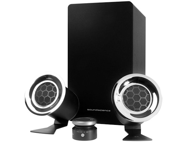 Antec wants to rockus with its new soundscience 2.1 '3D' speakers