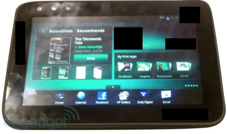 Exclusive: HP's Zeen C510 Android tablet in the wild