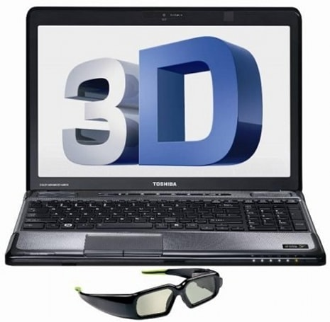 Toshiba Satellite A665-3DV gets a stereoscopic software makeover, now plays nice with 2D content, Blu-ray 3D and external screens