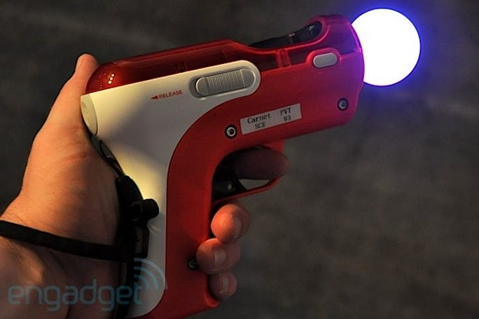 PlayStation Move Shooting Attachment out now for $20, still blindingly beautiful