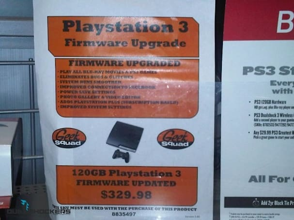 Best Buy charges $30 for PS3 firmware update, laughs all the way to the bank