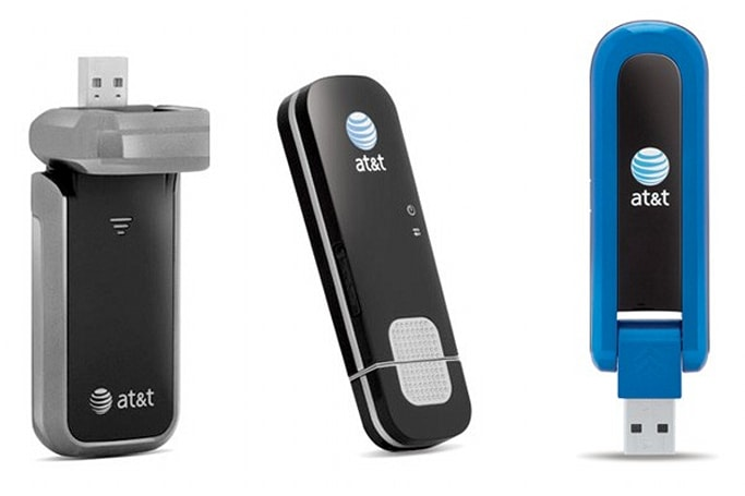 AT&T's new USB modems include HSPA+, LTE-upgradeable, and prepaid options