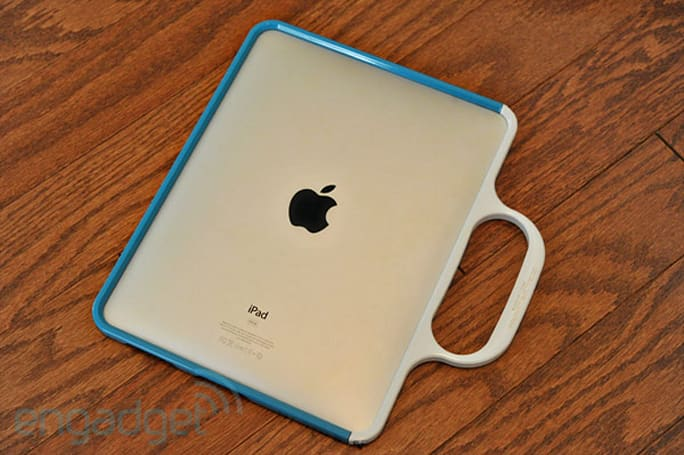 Colorware ships its first original product: the $300 Grip for iPad (hands-on)