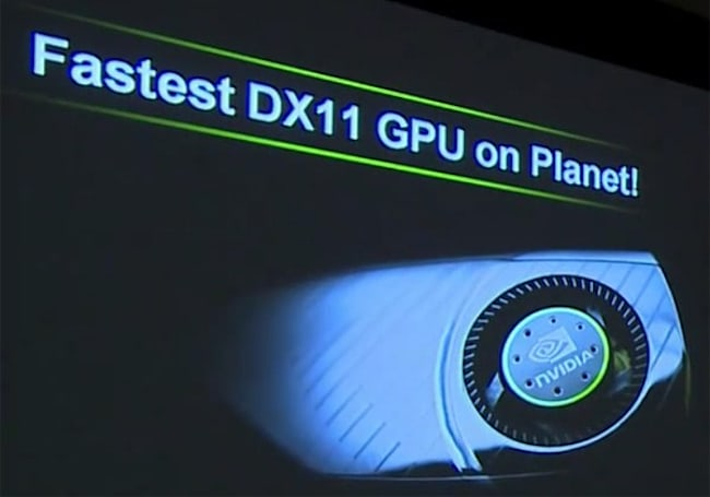 NVIDIA promises 'fastest DX11 GPU on the planet' very, very soon (video)