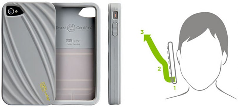 Casemate's iPhone 4 Bounce case protects your noodle from inevitable radiation baking