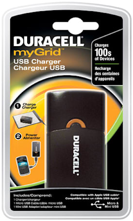 Duracell myGrid USB Charger gives your Kindle 100 extra hours of life for $35