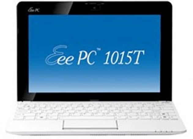 ASUS Eee PC 1015T now on sale, complete with AMD V105 CPU