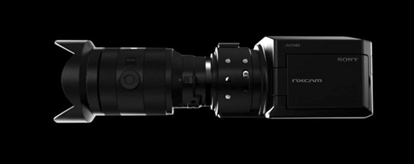 Sony teases us with NXCAM HD concept Super 35mm camcorder, strictly for the pros (video)