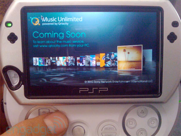 Sony PSP to gain unlimited music via cloud-based Qriocity service