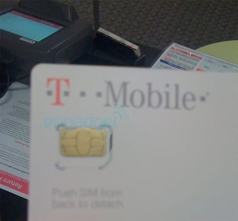 T-Mobile customers being mistakenly shipped Micro SIMs, just begging to get shoved into iPhones (update: Galaxy Tab!)