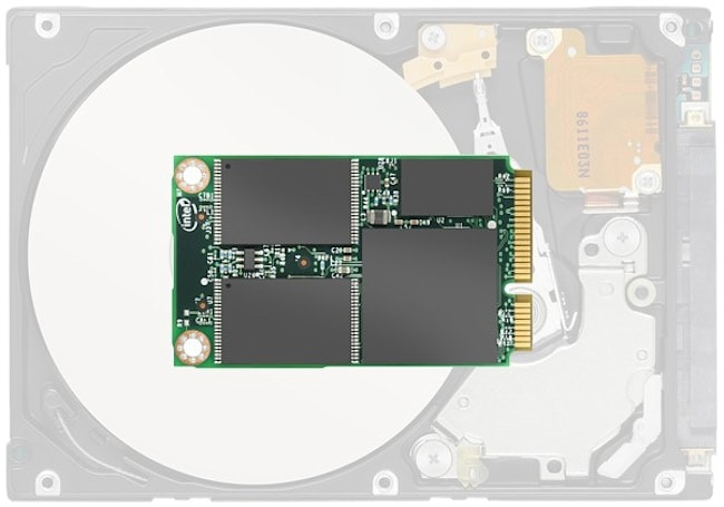 Intel 310 mSATA SSD knows that size matters, fits 80GB into less space than a credit card