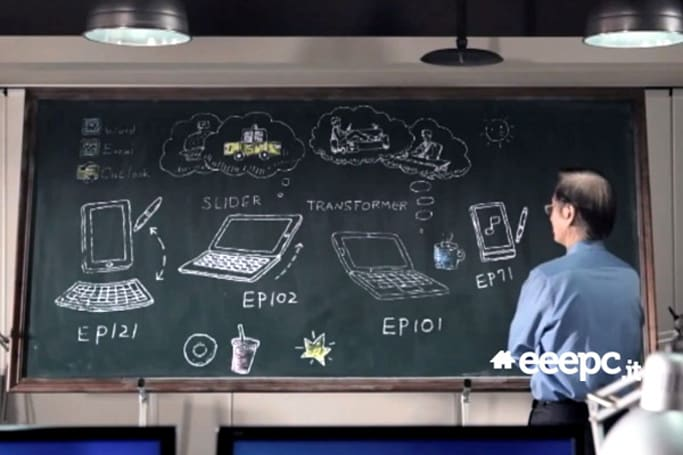 2011 CES 前哨戰:ASUS EP121、EP102、EP101、EP71 現身黑板