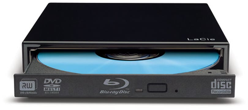 LaCie ships USB 2.0 Slim Blu-ray external burner for $265