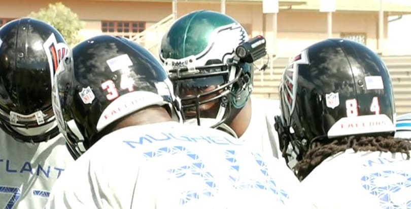 Watch Pro Bowl practice through Michael Vick's eyes -- and his ContourHD 1080p helmet cam