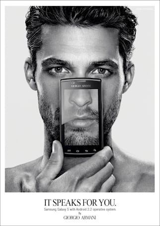 Visualized: Giorgio Armani Galaxy S