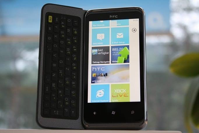 HTC 7 Pro now available on O2 Germany, €22 monthly or €599 up front
