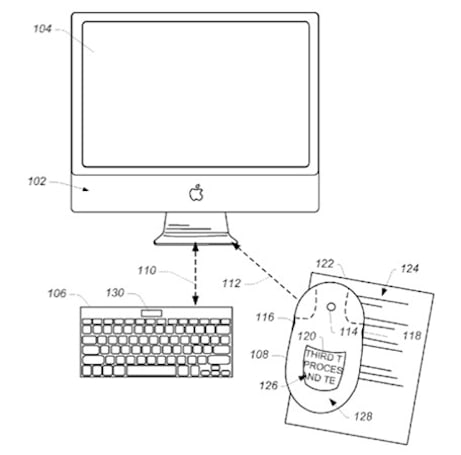Apple patent application details magical mouse with a built-in display