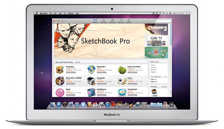 Mac App Store hits one million downloads on day one