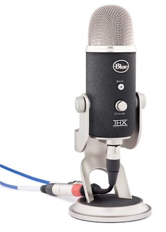 Yeti Pro USB condenser microphone touts 24-bit / 192 kHz digital recording, XLR output, we go hands-on
