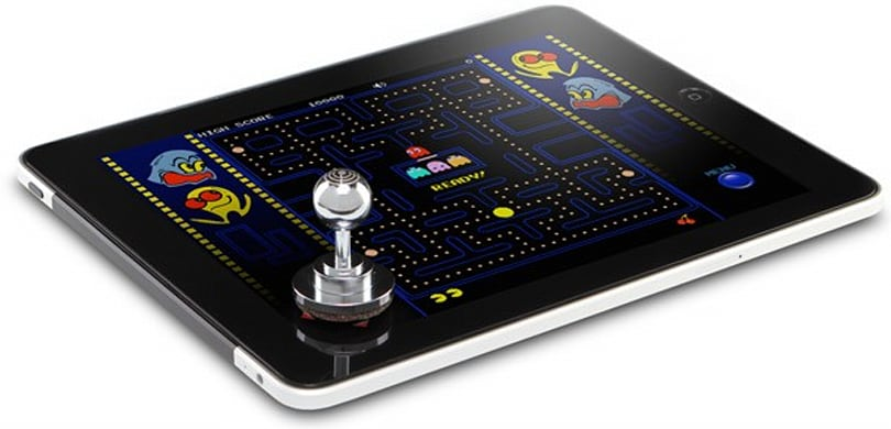 ThinkGeek Joystick-It brings arcade-style fun to your otherwise mundane tablet gaming experience