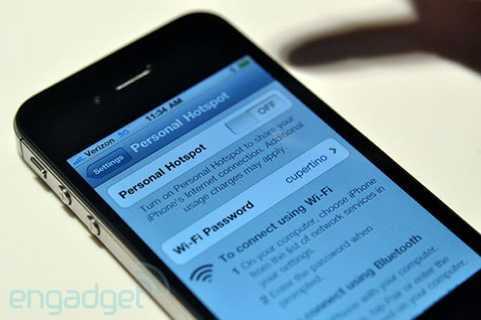 iPhone Personal Hotspot feature headed to all iPhones in iOS 4.3?