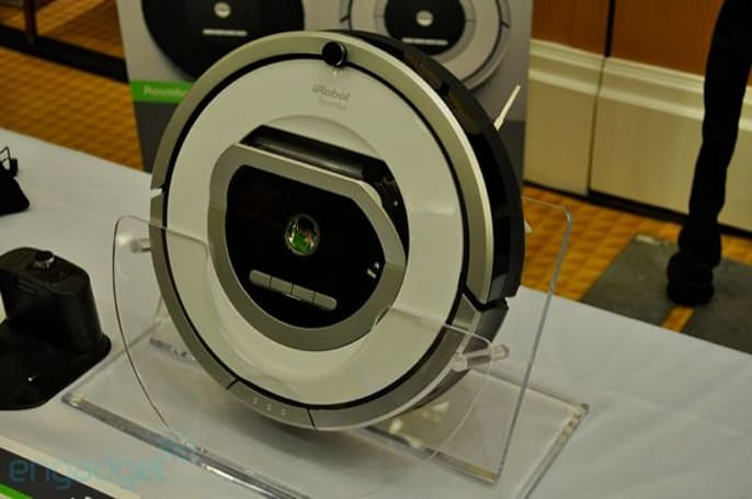 iRobot Roomba 700 series hands-on