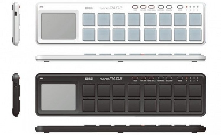 Korg rolls out slimmed down nanoSeries2 USB controllers
