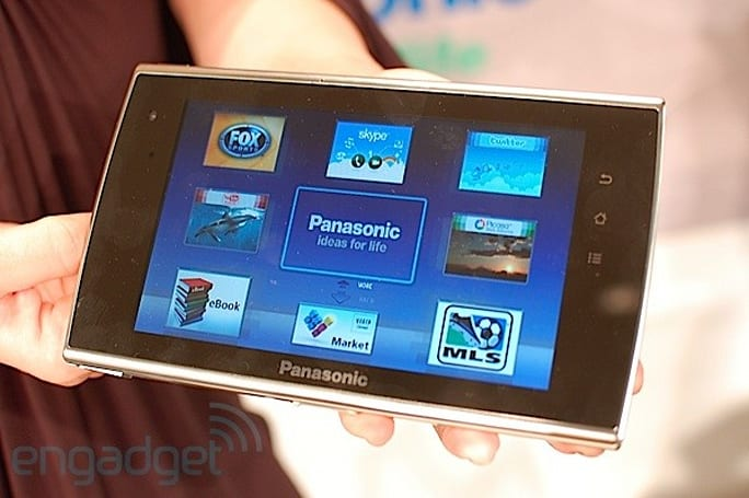 Panasonic's Android-based Viera Tablet unveiled at CES 2011