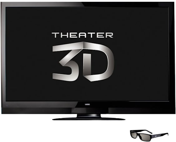 Vizio unveils Theater 3D HDTVs with passive glasses tech in 22- to 71-inch sizes