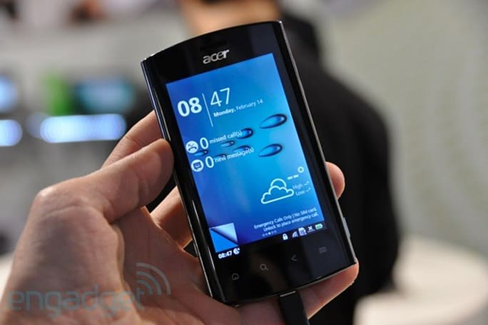 Acer Liquid mt hands-on (video)