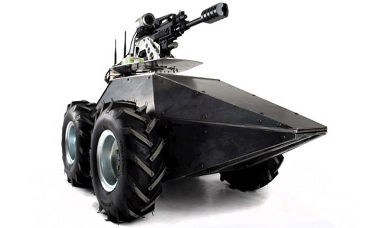 Mega Hurtz paintball robot is the remote-controlled, armor-plated tank you always wanted (video)