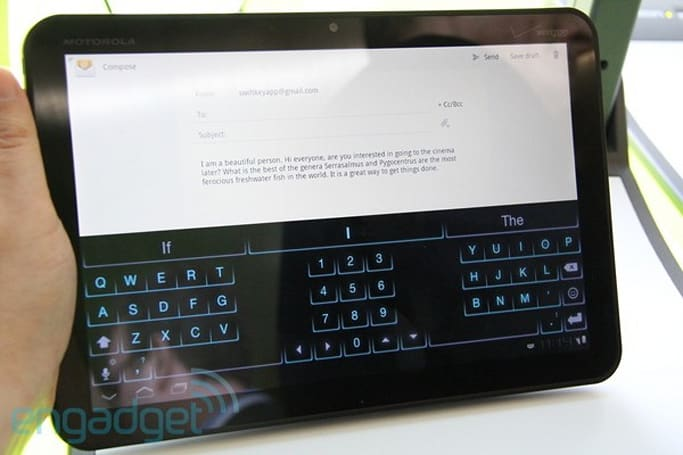TouchType debuts SwiftKey Tablet app for Android tablets, we go hands-on (video)