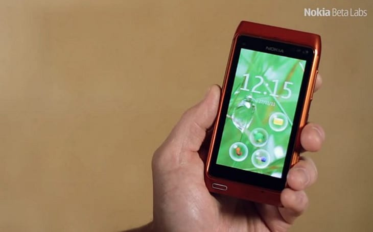 Nokia Bubbles lets you intelligently unlock your N8 in a pop