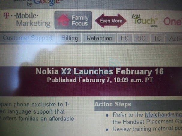 T-Mobile launching Nokia X2 on February 16th?