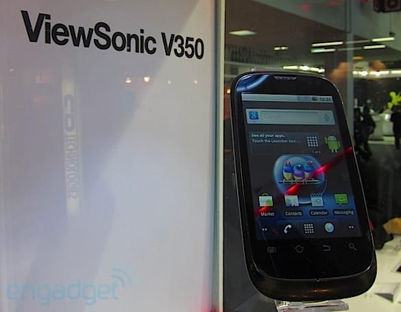 ViewSonic V350 hands-on (video)