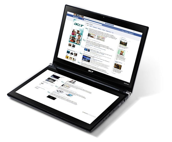 Acer slaps $1,200 price tag on dual-screen Iconia-6120 touchbook, lets US and Canada pre-order