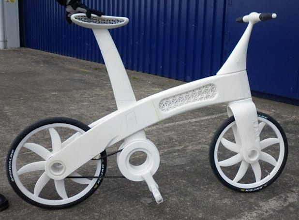 EADS's Airbike is a 3D-printed nylon bicycle, actually looks rather decent